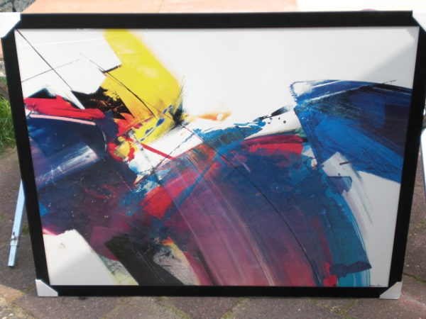 2 moderne schilderijen-0