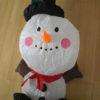 Opblaasbare sneeuwpop 80 cm op batterijen-0