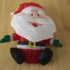 Opblaasbare kerstman 80 cm op batterijen-138