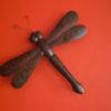 Libellen 60 cm donker bruin-0