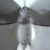 Vlinder Zwart/Wit gekleurd 30 cm-162