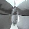 Vlinder Zwart/Wit gekleurd 30 cm-161
