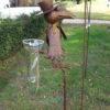 2 metalen vogels regenmeter-264