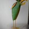 3 verschillende meer kleurige metalen vogels-0