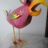 3 verschillende meer kleurige metalen vogels-300