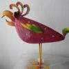 3 verschillende meer kleurige metalen vogels-302