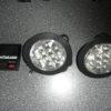 Zonnepaneel met 2 led lampen met 12 lampjes-427