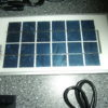 Zonnepaneel met 2 led lampen met 12 lampjes-424