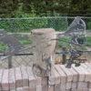 diverse metalen vogels voor in boom of op stang-496