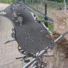 diverse metalen vogels voor in boom of op stang-488